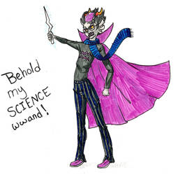 Eridan Science Wand By Ladykaltag On Deviantart