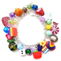 Rainbow Charm Bracelet 7 by fairy-cakes