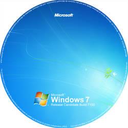 Windows 7 RC Sticker by Tone94