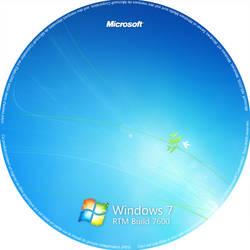 Sticker Windows 7 RTM by Tone94
