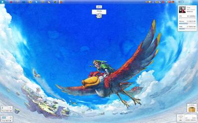 October Desktop - Zelda by Tone94