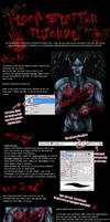 Blood Splatter Tutorial Part 2 by Mytherea
