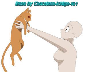 Kyo and OC Base by chocolate-ichigo-101