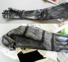automail : inner arm+shoulder by k-ee-ran