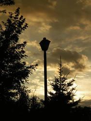 Just Beyond the Lamppost II by k-ee-ran