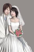 YuMizu Wedding 2nd version by MintFrosting