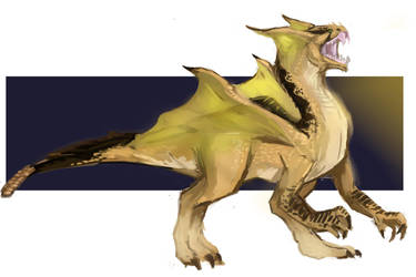 Vipero Draconis- Sketch Paint by SolidTurtle1