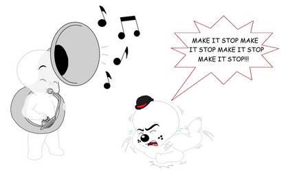 Make It Stop (Redraw) by HaleyC7995