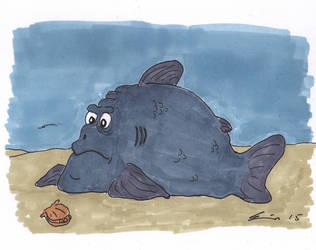 uglyfish6 by Tusenkunst