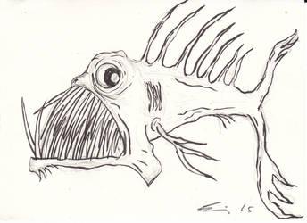 Uglyfish7 by Tusenkunst