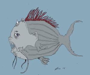 Uglyfish9 by Tusenkunst