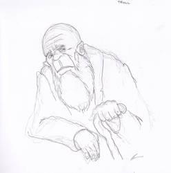 Sketchbook troll by Tusenkunst
