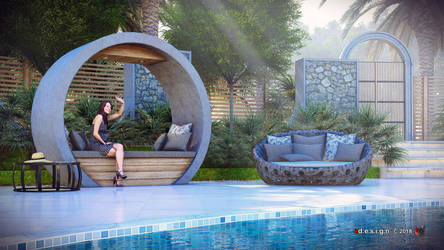 The Farm Pool_day by zernansuarezdesign