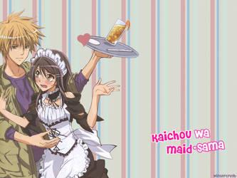 Kaichou wa Maid-sama by Wintercrush