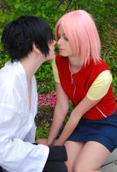 SasuSaku - First Kiss by OnigiriSakura