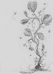 Inktober 2018: Day 1 by shadowwings8810