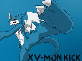 ExVeemon kick by KenJ91
