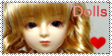 Doll Stamp by StampMeisters
