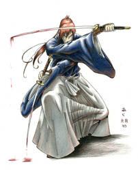Samurai X - Battousai by Ai-Dax