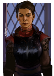 Dragon Age Inquisition Cassandra Pentaghast by dreNerd