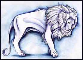 The white lion by Lyswen