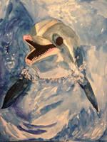 Pepsi the Bottlenose Dolphin by AuroraStardust13