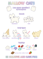 Mallow Cats Offical Reference (2017) by dreamywren