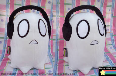 Napstablook Plush by HappyKittyPlushies
