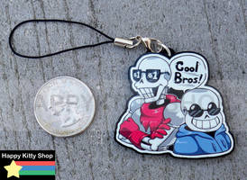 Skelebros Charm by HappyKittyPlushies