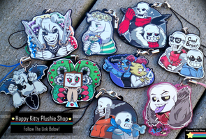 Undertale Charms by HappyKittyPlushies