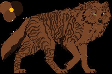 .:F2U:. Cavern wolf 4 by licorneor