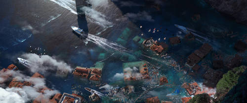 Coastal Disaster by Scoobylt