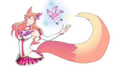 StarGuardian Ahri by Miles-Loves