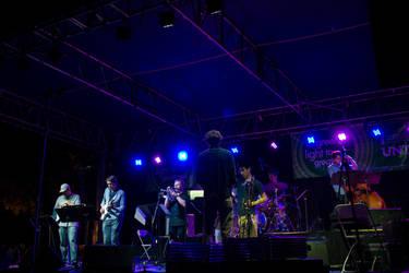 One O'Clock Lab Band at Jazzfest by crystaljhollis