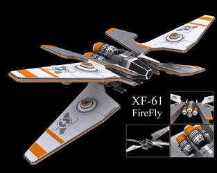XF-61 FireFly by MechaLord