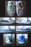 Up Shoes by wenuwishuponastar