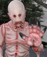 Pale Man Halloween costume by CarnevaleObscura