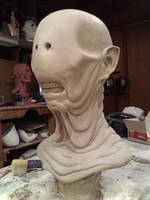 Pale Man Bust by CarnevaleObscura