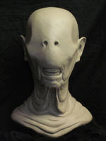 Pale Man bust 2011 final by CarnevaleObscura