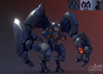 RCA 3D creature 10 by PustyXoX