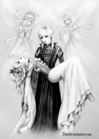 Kisaki and Riku with Jasmine and Satsuki by Develv