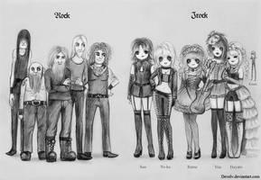 Jrock vs Rock by Develv