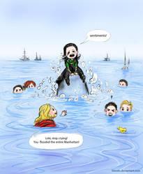Loki's sentiments by Develv