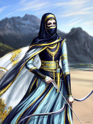 Persian warrior by Develv