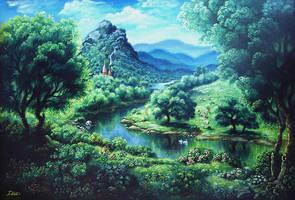 Nature of Vrindavana by Develv