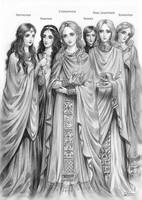 Byzantine court of eunuchs by Develv