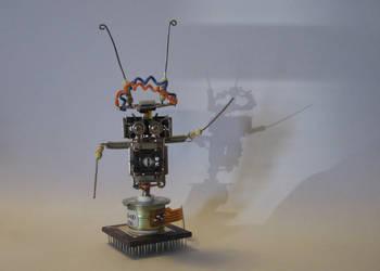 Robot Drummer by botsmaker
