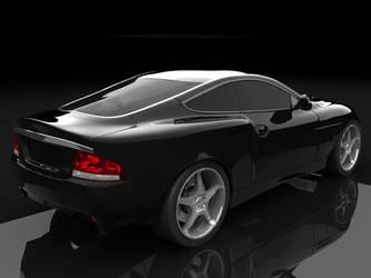 Aston Martin V12 Vanquish 02 by IomegaREDI