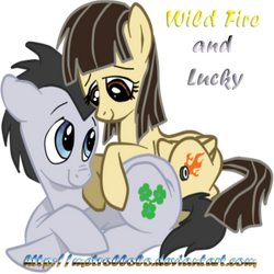 Wild Fire and Lucky! by MeTrollolo