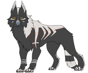 wolf adopt (closed) by punkucats